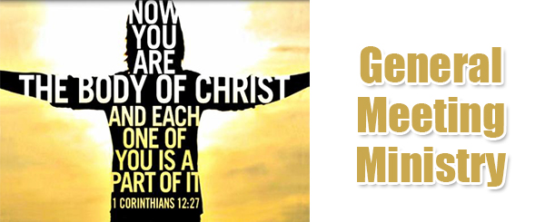 General Meeting Ministry – page banner 3
